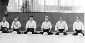 A ce jour, les seuls Shihan nommés 6è dan. Mai 87.